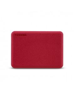 Toshiba Canvio Advance ulkoinen kovalevy 1000 GB Punainen Toshiba HDTCA10ER3AA - 1