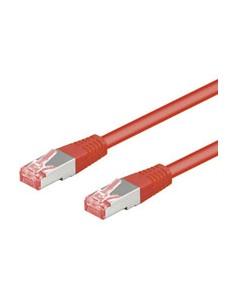 Goobay CAT 6-5000 SSTP PIMF Red 50m verkkokaapeli Punainen Goobay 68287 - 1