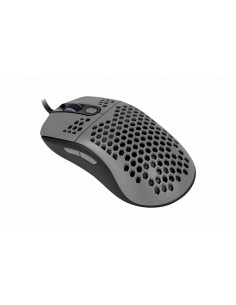 Arozzi Favo hiiri USB A-tyyppi Optinen 16000 DPI Oikeakätinen Arozzi AZ-FAVO-BKGY - 1