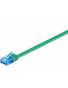 Goobay CAT6a U/UTP 0.5m verkkokaapeli 0.5 m (UTP) Vihreä Goobay 96297 - 1