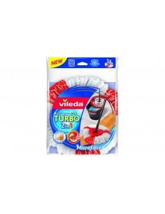 Vileda Turbo 2in1 Moppipää Punainen, Valkoinen Vileda 151609 - 1