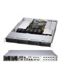 Supermicro A+ Server 1014S-WTRT Socket SP3 Rack (1U) Black Supermicro AS -1014S-WTRT - 1