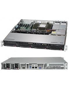 Supermicro SuperServer 5019P-MTR Intel C622 LGA 3647 (Socket P) Teline ( 1U ) Musta Supermicro SYS-5019P-MTR - 1