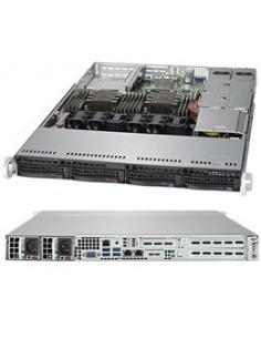 Supermicro SuperServer 6019P-WTR Intel® C621 LGA 3647 (Socket P) Teline ( 1U ) Musta Supermicro SYS-6019P-WTR - 1