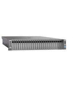 Cisco UCS C240 M4 palvelin 2 GHz 64 GB Teline ( 2U ) Intel® Xeon® E5 v4 DDR4-SDRAM Cisco UCS-SPR-C240M4-BC1 - 1