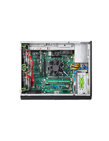 Fujitsu PRIMERGY TX1310 M3 palvelin 3.3 GHz 16 GB Tower Intel® Xeon® E3 v6 250 W DDR4-SDRAM Fujitsu Technology Solutions VFY:T13
