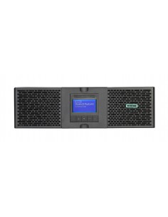 Hewlett Packard Enterprise G2 R6000 Dubbelkonvertering (Online) 6000 VA 5400 W 8 AC-utgångar Hp Q7G11A - 1