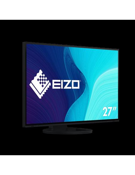 "EIZO FlexScan EV2795-BK tietokoneen litteä näyttö 68.6 cm (27"") 2560 x 1440 pikseliä Quad HD LED Musta Eizo EV2795-BK - 8"