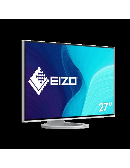 """EIZO FlexScan EV2795-WT tietokoneen litteä näyttö 68.6 cm (27"""") 2560 x 1440 pikseliä Quad HD LED Valkoinen Eizo EV2795-WT - 8"""