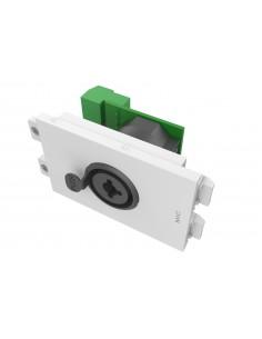 Vision TC3 XLRFJACK socket-outlet XLR + 6.35mm White Vision TC3 XLRFJACK - 1
