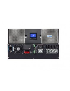 Eaton 9PX2200IRT3U strömskydd (UPS) Dubbelkonvertering (Online) 2200 VA W 10 AC-utgångar Eaton 9PX2200IRT3U - 1