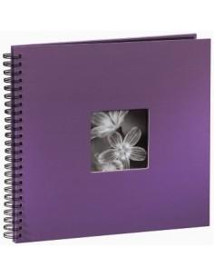 "Hama ""Fine Art"" Spiral Album, purple, 34x32/50 fotoalbum Lila 10 x 15. 13 18 Hama 094871 - 1"