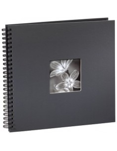 "Hama ""Fine Art"" Spiral Album, grey, 34x32/50 fotoalbum Grå 10 x 15. 13 18 Hama 94874 - 1"