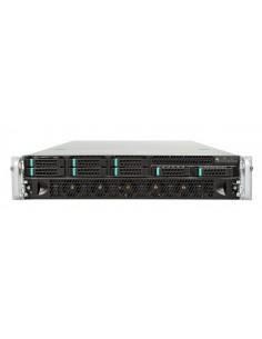 Intel R2208LH2HKC2 palvelinrunko LGA 2011 (Socket R) Teline ( 2U ) Alumiini, Musta Intel R2208LH2HKC2 - 1