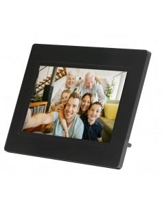"""Denver PFF-710BLACK digitaalinen valokuvakehys Musta 17.8 cm (7"""") Kosketusnäyttö Wi-Fi Denver 119101010010 - 1"""