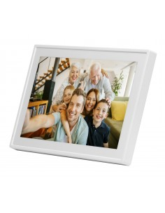 "Denver PFF-711WHITE digitaalinen valokuvakehys Valkoinen 17.8 cm (7"") Kosketusnäyttö Wi-Fi Denver 119101010040 - 1"