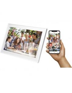 "Denver PFF-1513WHITE digital photo frame White 39.6 cm (15.6"") Touchscreen Wi-Fi Denver 119101050010 - 1"