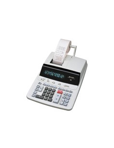 Sharp CS-2635RH laskin Työpöytä Tulostuslaskin Musta, Hopea Sharp SH-CS2635RHGYSE - 1