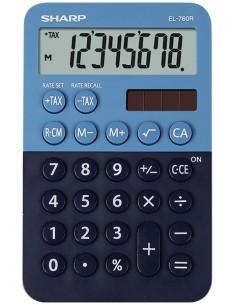 Sharp EL-760R laskin Työpöytä Talouslaskin Sininen Sharp SH-EL760RBBL - 1