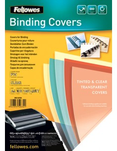 Fellowes 5375901 binding cover A4 Plastic, PVC Transparent 100 pc(s) Fellowes 5375901 - 1