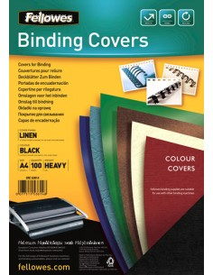 Fellowes 5381402 binding cover A4 Paper Black 100 pc(s) Fellowes 5381402 - 1