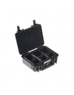 B&W 1000/B/RPD varustekotelo Salkku/klassinen laukku Musta B&w International 1000/B/RPD - 1