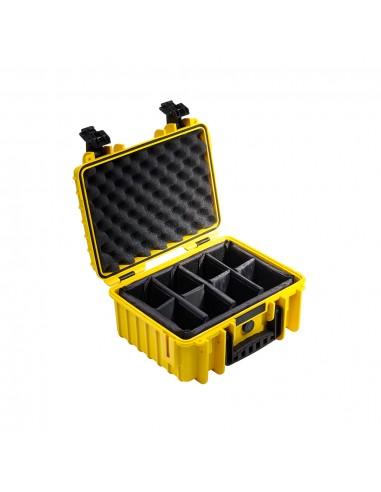 B&W 3000/Y/RPD varustekotelo Salkku/klassinen laukku Keltainen B&w International 3000/Y/RPD - 1