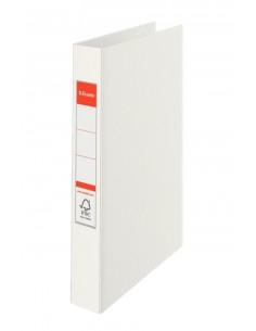 Esselte Standard Ring Binders , PP White 2 x 25 mm rengaskansio A4 Valkoinen Esselte 14449 - 1