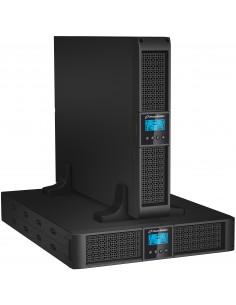 PowerWalker VFI 1000RT LCD Taajuuden kaksoismuunnos (verkossa) 1000 VA 900 W 8 AC-pistorasia(a) Bluewalker 10120120 - 1