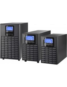 PowerWalker VFI 3000C LCD UPS-virtalähde Taajuuden kaksoismuunnos (verkossa) 3000 VA 2400 W 4 AC-pistorasia(a) Bluewalker 101201