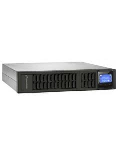 PowerWalker VFI 2000CRM LCD Taajuuden kaksoismuunnos (verkossa) 2000 VA 1600 W 4 AC-pistorasia(a) Bluewalker 10122001 - 1