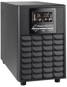 PowerWalker VFI 1000 CG PF1 UPS-virtalähde Taajuuden kaksoismuunnos (verkossa) VA W 4 AC-pistorasia(a) Bluewalker 10122108 - 1