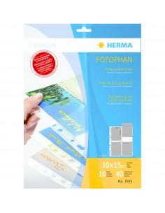 HERMA 7695 korttitasku Läpinäkyvä Herma 7695 - 1