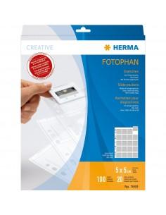 HERMA 7699 korttitasku Läpinäkyvä Herma 7699 - 1