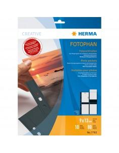 HERMA 7783 muovitasku 90 x 130 mm Polypropeeni (PP) 10 kpl Herma 7783 - 1