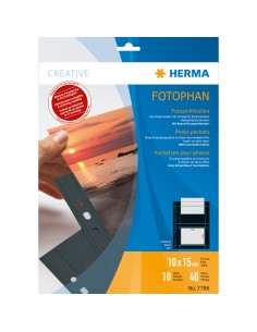 HERMA 7786 muovitasku 100 x 150 mm Polypropeeni (PP) 10 kpl Herma 7786 - 1