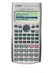 Casio FC-100V laskin Tasku Talouslaskin Harmaa Casio 124767 - 1