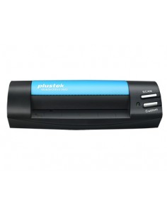 Plustek MobileOffice S602 Käyntikorttiskanneri 1200 x DPI A6 Musta, Sininen Plustek 0287 - 1