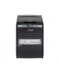 Rexel Auto+ 90X paperisilppuri Ristiinleikkaava 60 dB 22.5 cm Musta Rexel 2103080EUA - 1