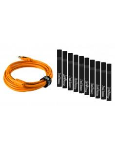 Tether Tools Starter Tethering Kit USB-kaapeli 4.6 m 2.0 USB A Mini-USB B Oranssi Tether Tools BTK51 - 1