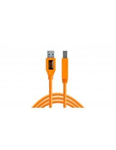 Tether Tools CU5460ORG USB-kaapeli 4.6 m 3.2 Gen 1 (3.1 1) USB A B Oranssi Tether Tools CU5460ORG - 1