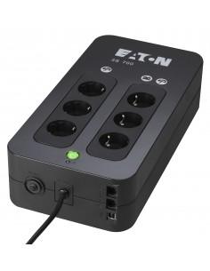 Eaton 3S 700 DIN VA 420 W 6 AC-pistorasia(a) Eaton 3S700DIN - 1