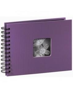 "Hama ""Fine Art"" Spiral Album, purple, 22x17/50 photo album 10 x 15. 13 18 Hama 94881 - 1"