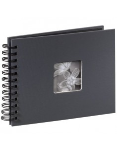 "Hama ""Fine Art"" Spiral Album, grey, 22x17/50 fotoalbum Grå 10 x 15. 13 18 Hama 94884 - 1"