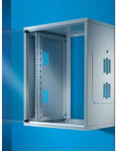 Rittal QE Box DK 7057.000 Seinään asennettava laitekehikko 30kg palvelinteline Rittal 7057000 - 1