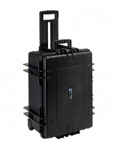 B&W 6800/B/SI varustekotelo Tietokonelaukku pyörillä Musta B&w International 6800/B/SI - 1