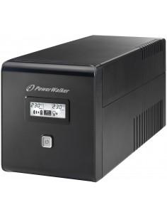 PowerWalker VI 1000 LCD VA 600 W 4 AC-pistorasia(a) Bluewalker 10120018 - 1