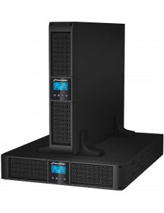PowerWalker VI 3000RT LCD UPS-virtalähde 3000 VA 2700 W 9 AC-pistorasia(a) Bluewalker 10120024 - 1