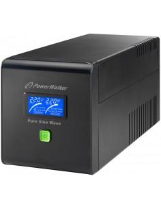 PowerWalker VI 750 PSW UPS-virtalähde VA 480 W Bluewalker 10120063 - 1