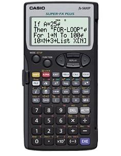 Casio FX-5800P laskin Tasku Funktiolaskin Musta Casio FX-5800P - 1
